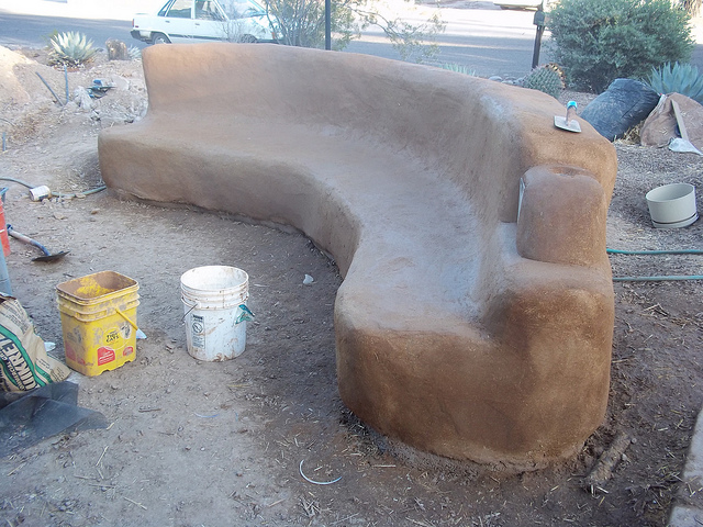 Prime What Does A Straw Bale Or Cob Bench Or Wall Cost Gmtry Best Dining Table And Chair Ideas Images Gmtryco